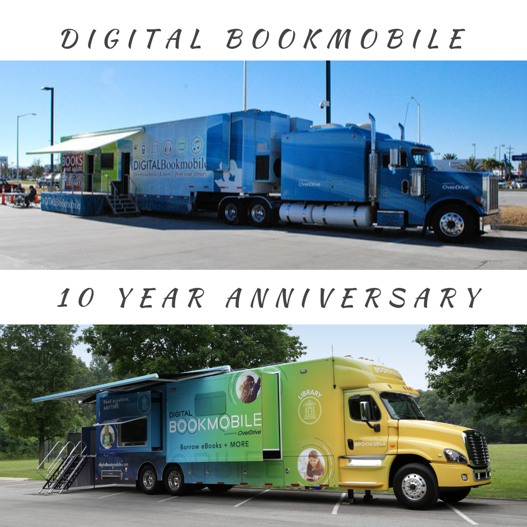 The Digital Bookmobile Celebrates 10 Year Anniversary