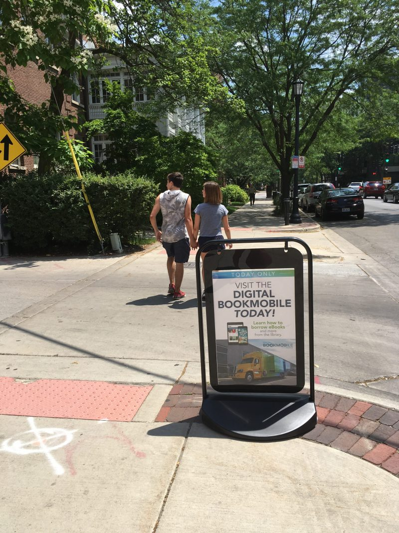 ADA Accessible Digital Bookmobile Empowers Patrons in Evanston, IL