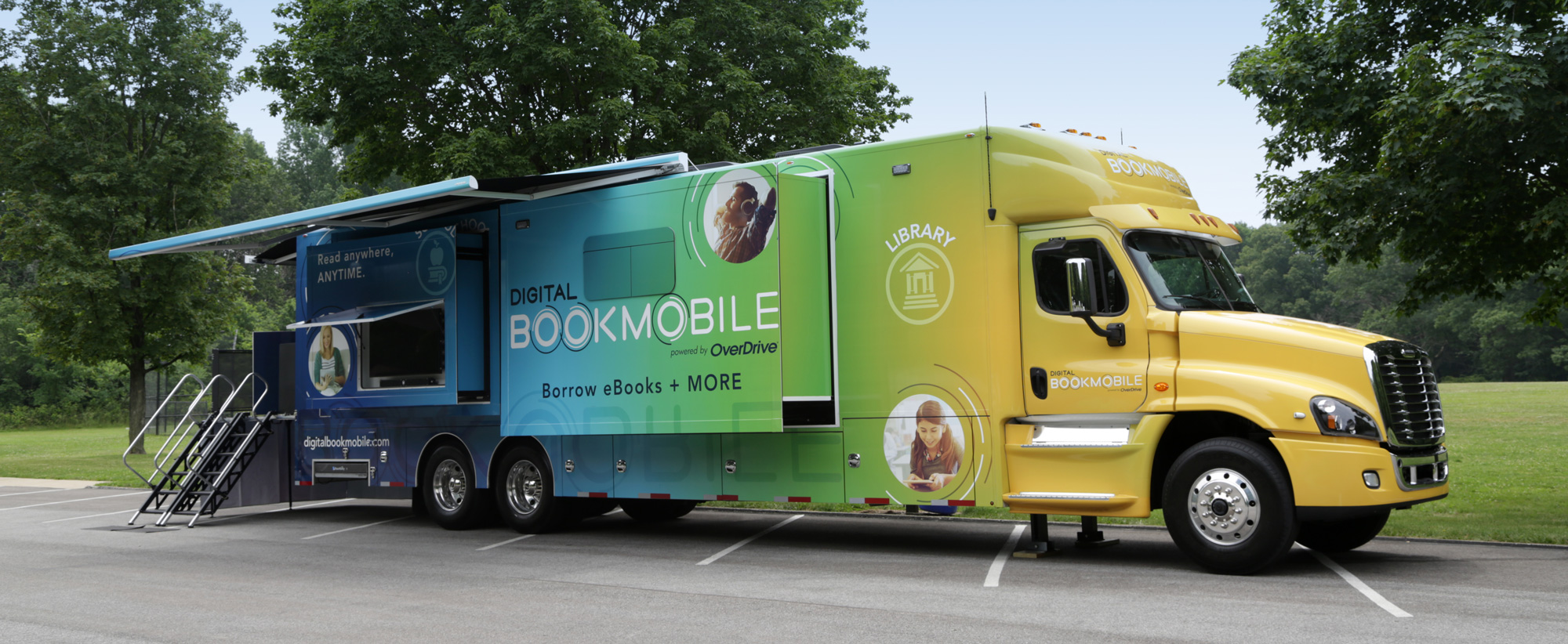 Our Route – Overdrive's Digital Bookmobile