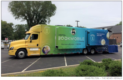 Local library hosts Digital Bookmobile National Tour