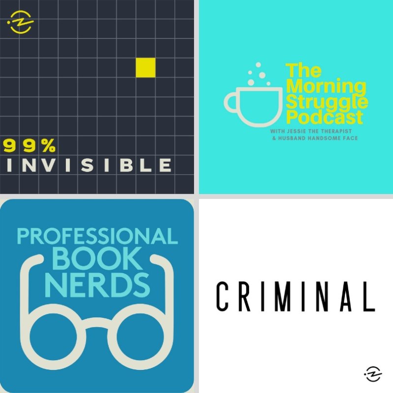 Three Podcast Episodes I Love About Books